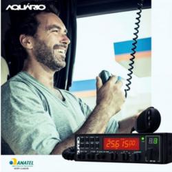 Rádio Aquario Px Rp-80 Canais  Cabo Antena Homolagado anatel  Anatel
