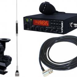Rádio Aquario Px Rp-80 Canais Sp Mala Cabo Antena  H Anatel