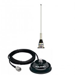 antena ars foguetino mv00bc com suporte magnético