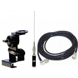 Kit Antena Móvel, Cabo e Suporte Porta Mala Ars - Mv35eam