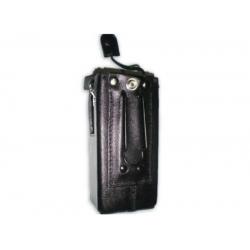 Capa Box Couro Rigído Clip Aço Rádio Motorola Ep-dep450