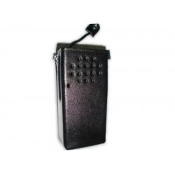 Capas Box Couro Rigído Com Passante Para  Radio Motorola Ep-450 e dep-450