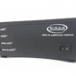 Fonte 13,8 Vts x 15AF Amperes com Flutuador de Bateria e Ventilador Interno