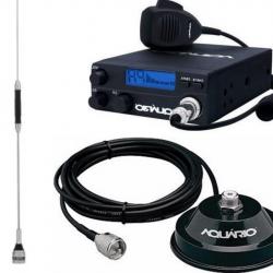 Kit Radio Px Rp40 C Aquario Antena B-2050 S Magnético Cabo
