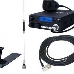 Kit Radio Px Rp40 C Aquario Antena B-2050 Suporte de  Caminhonete Cabo