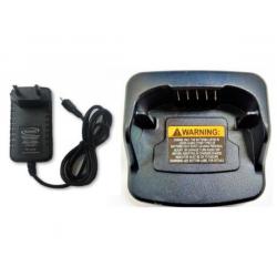 Fonte Carregadora E Base Compartivel Rádio Motorola Rva-50