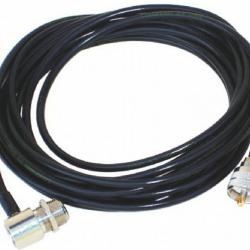 Antena Veicular Vhf 1/4 Onda Cabo Coaxial 5m Padrão - Ap0186