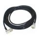 Kit Antena Movel Dual B Vhf1/4 Uhf 5/8 Suporte Porta Mala Ap0188