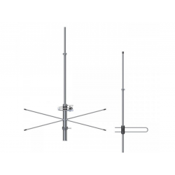 Antena Base Vhf 2×5/8 De Onda Pt Fm Steelbrás - Ap2449